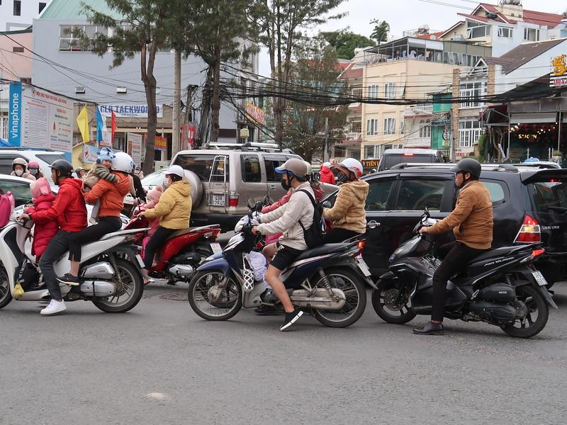 Traffic in Da Lat