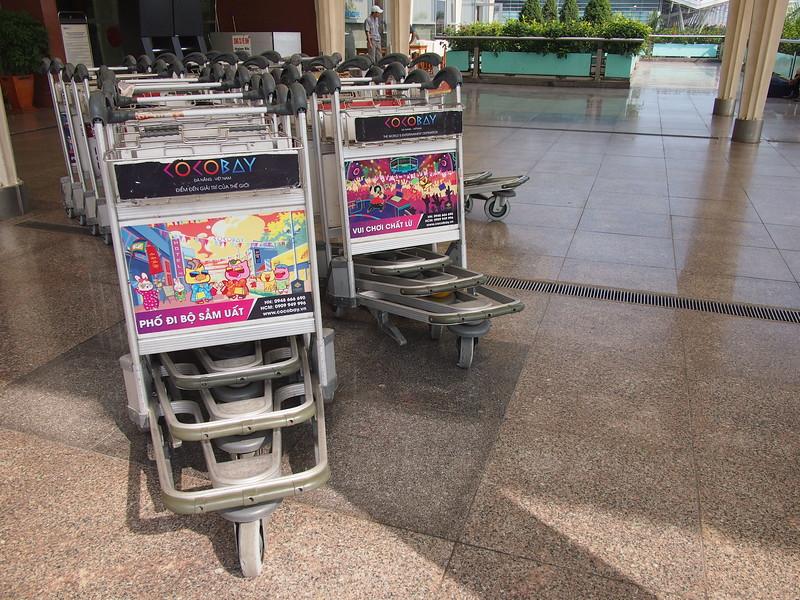 Cocobay advertising at Da Nang Airport