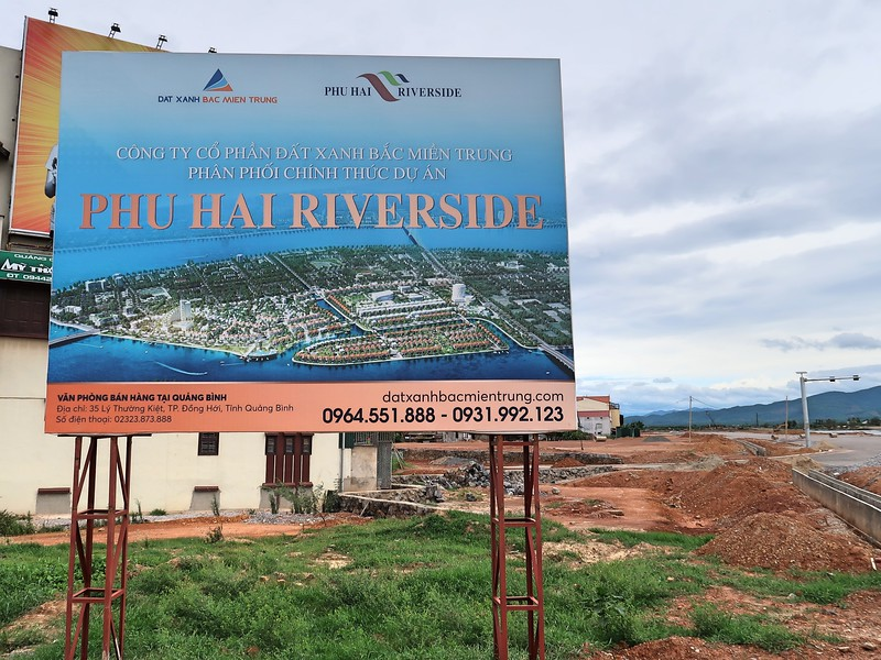 Phu Hai Riverside construction site