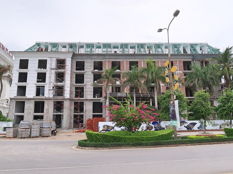 Radisson Palace Hotel Quang Binh under construction
