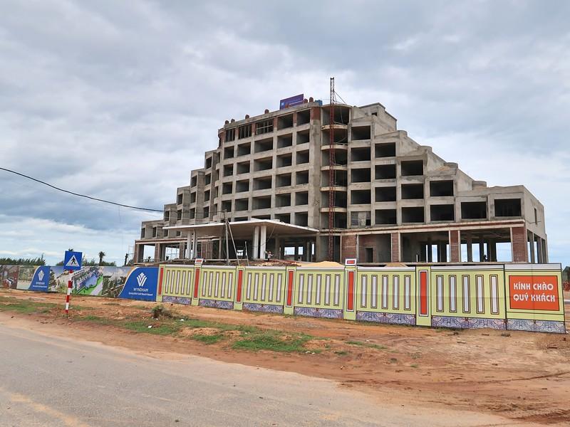 Wyndham under construction