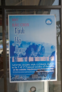 Seven Wonders of the world poster for Ha Long Bay - Ha Long Bay, Vietnam