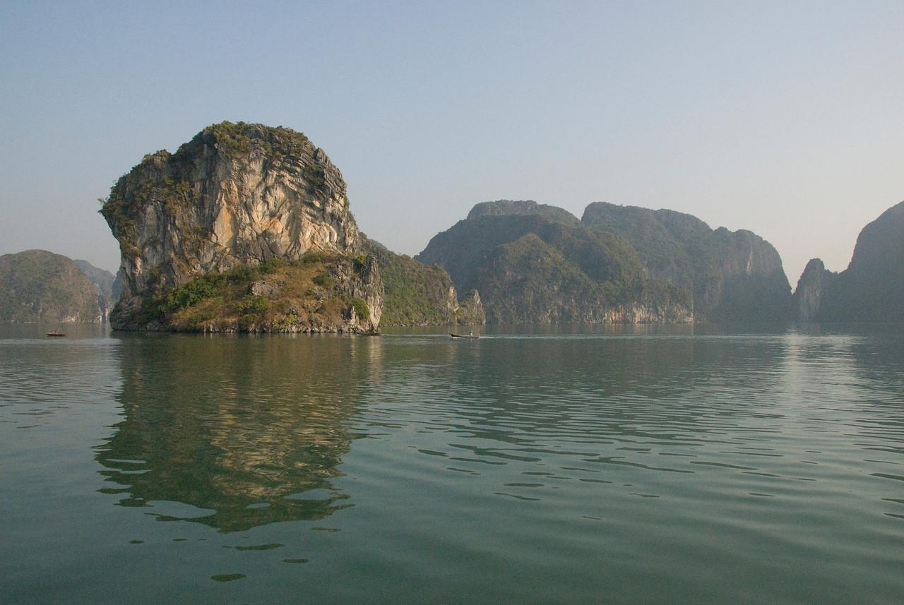 Rock islands in Ha Long Bay, Vietnam
