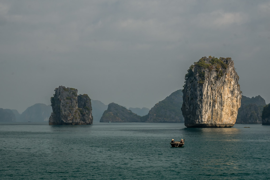 Ha Long Bay UNESCO site.