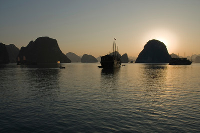 Ha Long Bay at Sunset - Vietnam