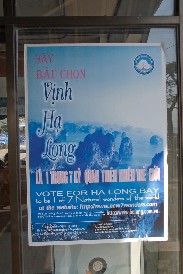 Seven Wonders of the world poster for Ha Long Bay - Ha Long Bay, Vietnam