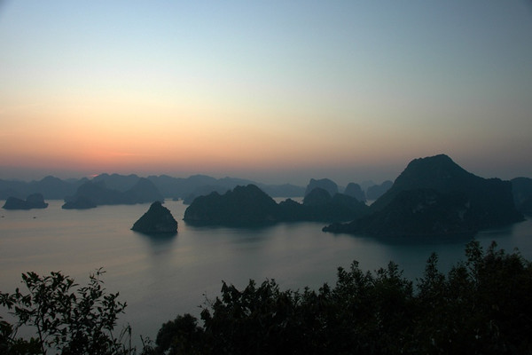 After Sundown - Halong Bay, Vietnam