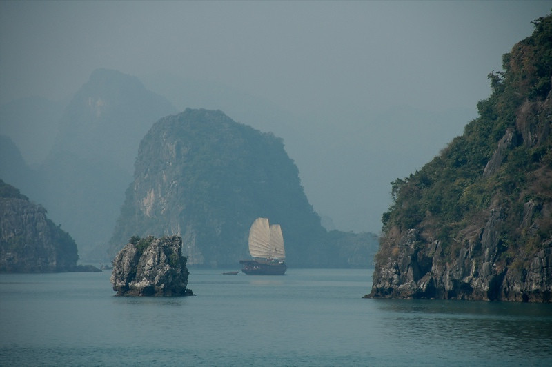 Boats - Halong Bay, Vietnam