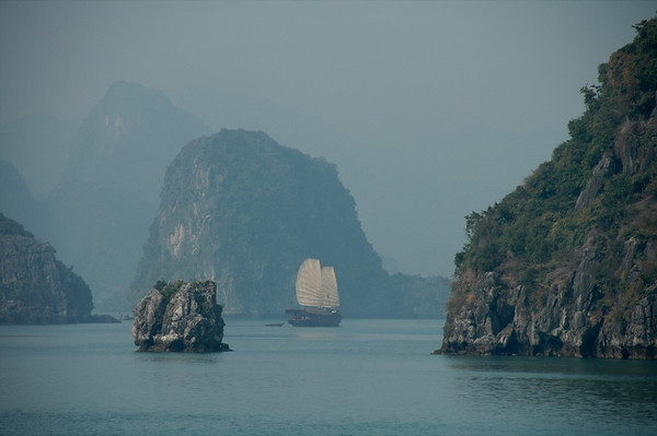Boats - Halong Bay, Vietnam