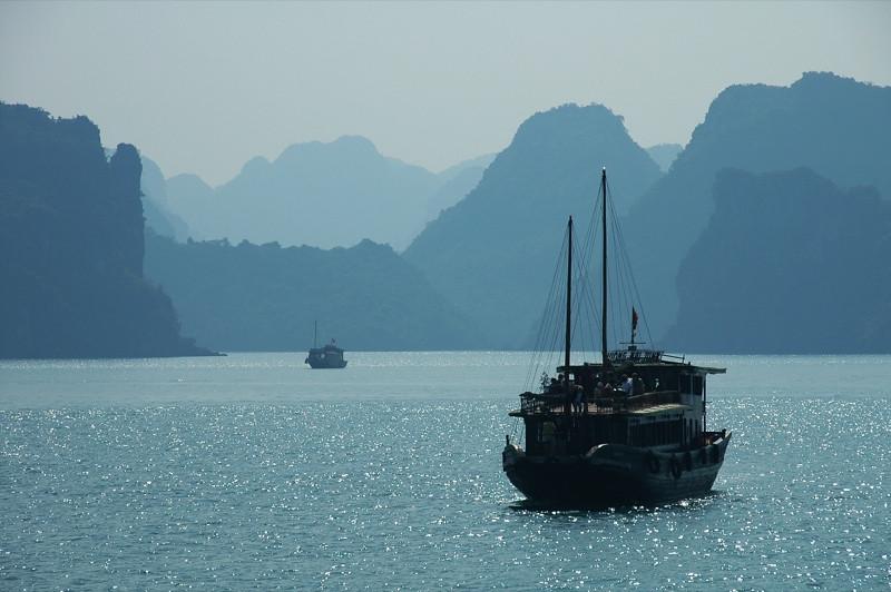 Boats and Islands - Halong Bay