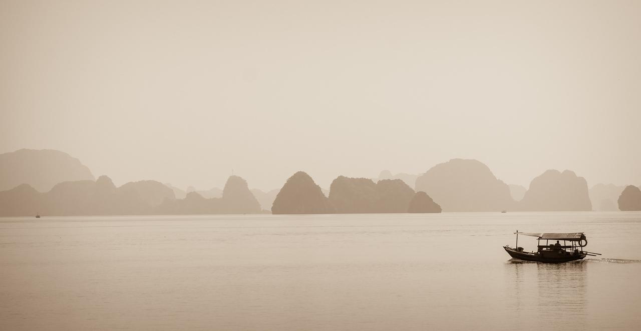 Magic Halong Bay.