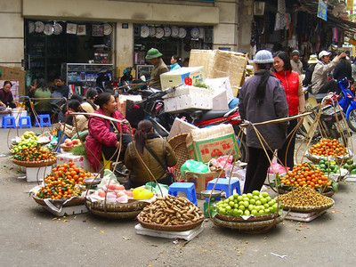 Baskets of Fruits - Hanoi, Vietnam