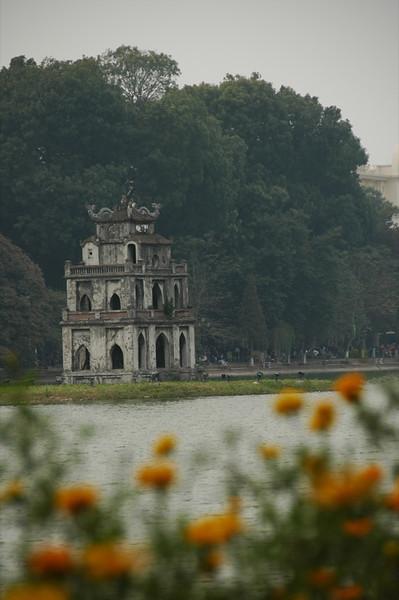 Ngoc Son Pagoda - Hanoi, Vietnam