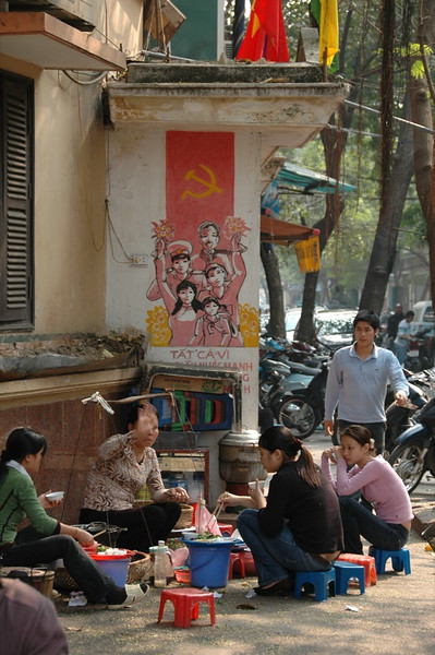 People on the Street - Hanoi, Vietnam