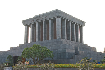 The masoleum in Ho Chi Minh Square - Hanoi, Vietnam