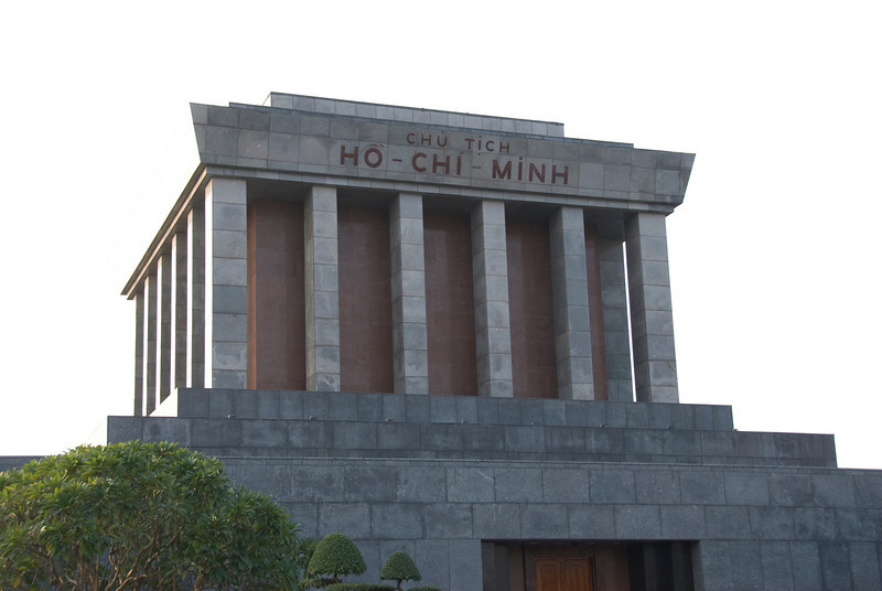 The Ho Chi Minh Square Masoleum - Hanoi, Vietnam