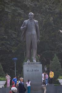 The Lennin Statue in Hanoi, Vietnam