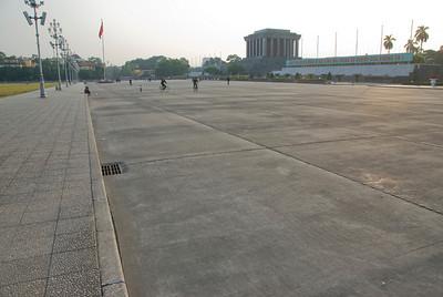 Wide complex in Ho Chi Minh Square - Hanoi, Vietnam