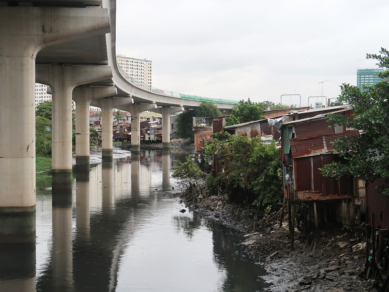 Houses on the Binh Thanh canals