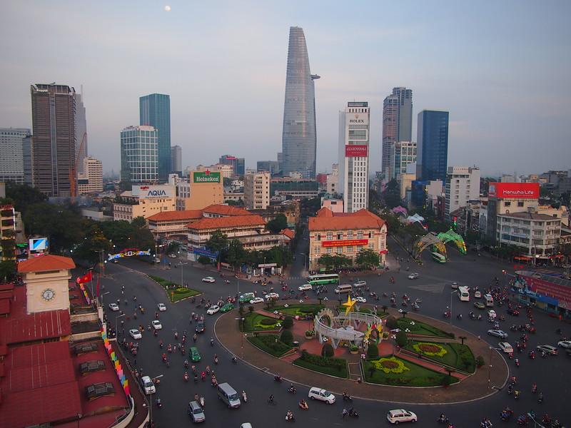 Quach Thi Trang Square at Benh Thanh Market