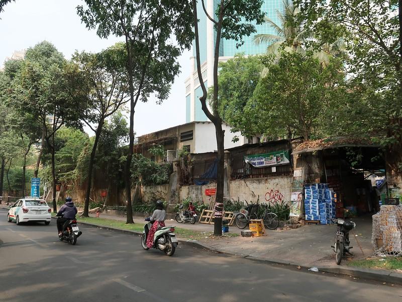Old wall at Chu Manh Trinh