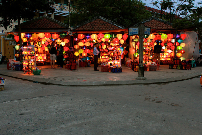 Night Markets in Hoi An - Vietnam