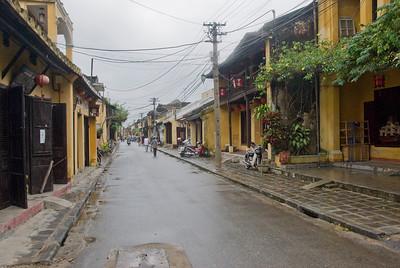 View of a quaint alley in Hoi An, Vietnam
