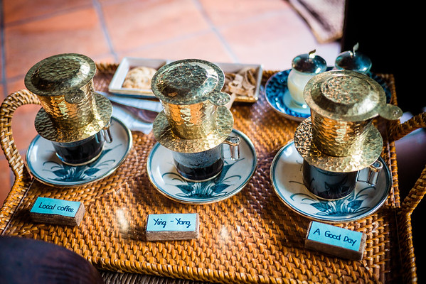 try traditional vietnamese coffee