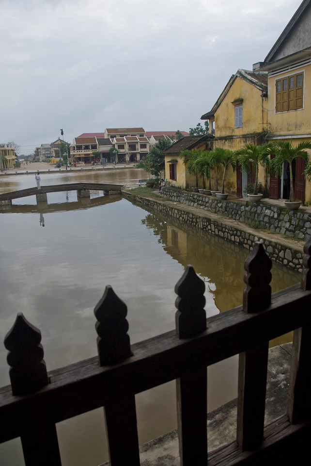 View from the foot bridge - Hoi An, Vietnam