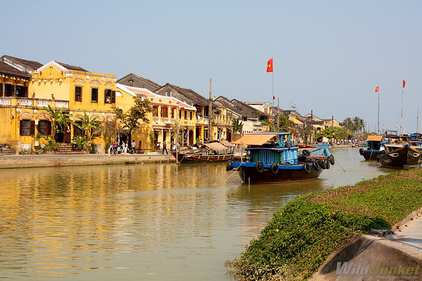 Riverbanks of Hoi An