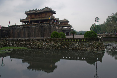 Entrance to Citadel in Hue, Vietnam