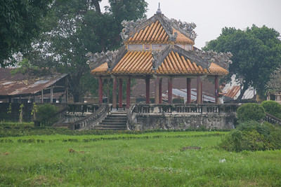 View inside the Royal Grounds - Hue, Vietnam