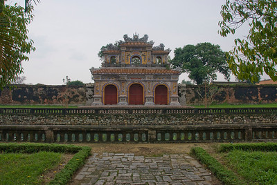 The Royal Gate in Hue, Vietnam