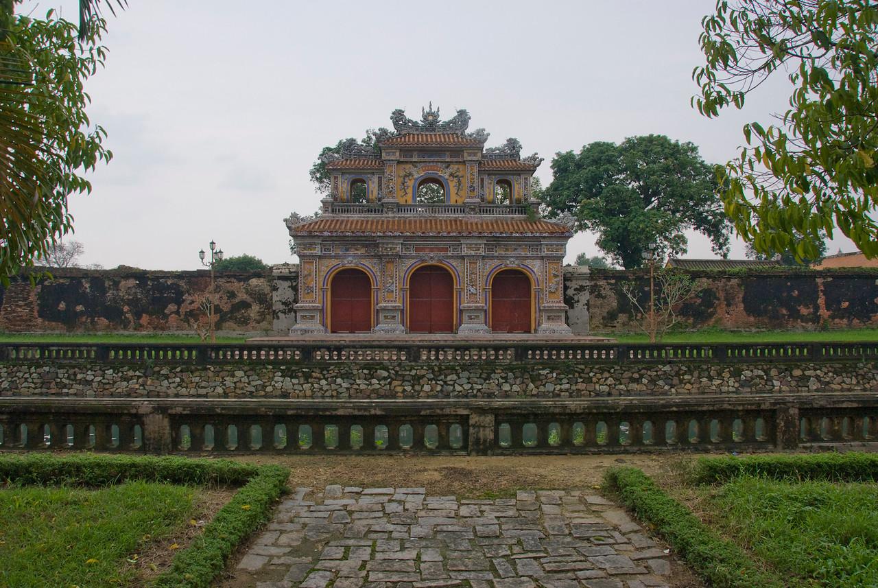 The Royal Gate in Hue, Vietnam