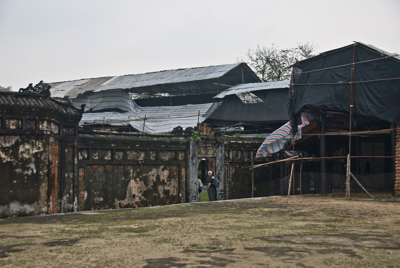 Inside the Royal Grounds of Citadel - Hue, Vietnam