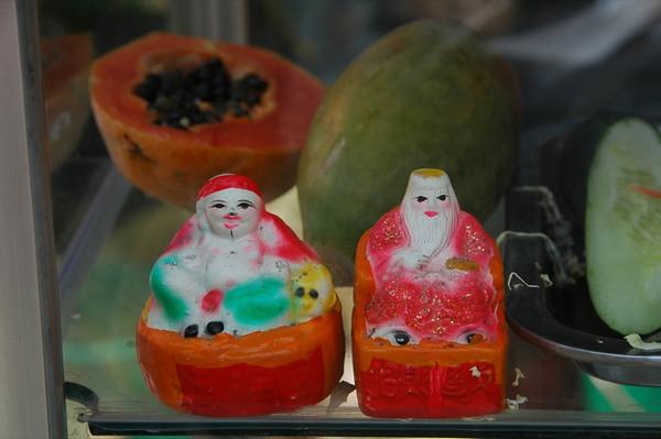 Fruit Stand Altar - Mekong Delta, Vietnam