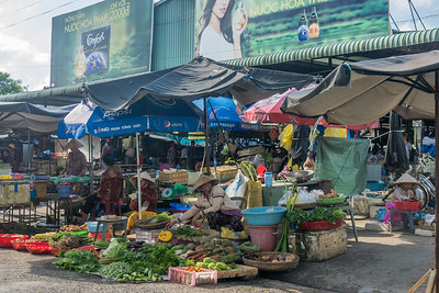 Phong Điền market near Can Tho, Vietnam
