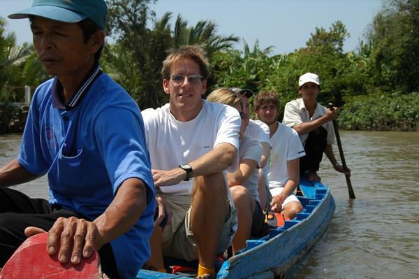 Small Boat - Mekong Delta, Vietnam