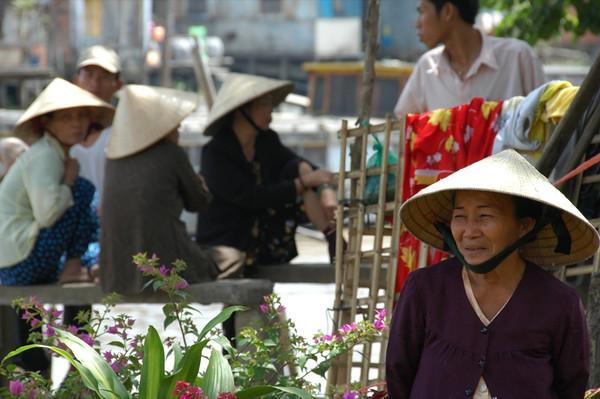 Cai Rang Market - Mekong Delta, Vietnam