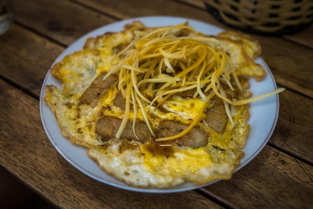 Bot chien, a local Vietnamese street food.