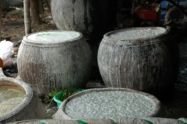 Rice Paper Making - Mekong Delta, Vietnam