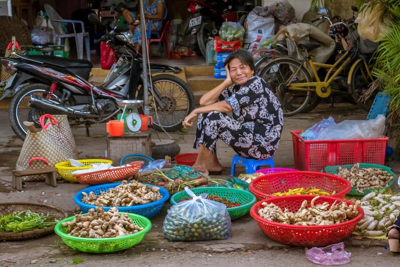 Tra Vinh market