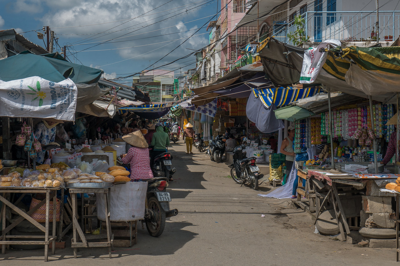 In Tra Vinh, a small colonial town in Vietnam's Mekong Delta.
