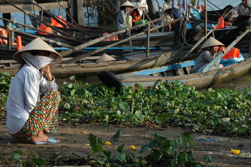 Balance and Patience - Mekong Delta, Vietnam