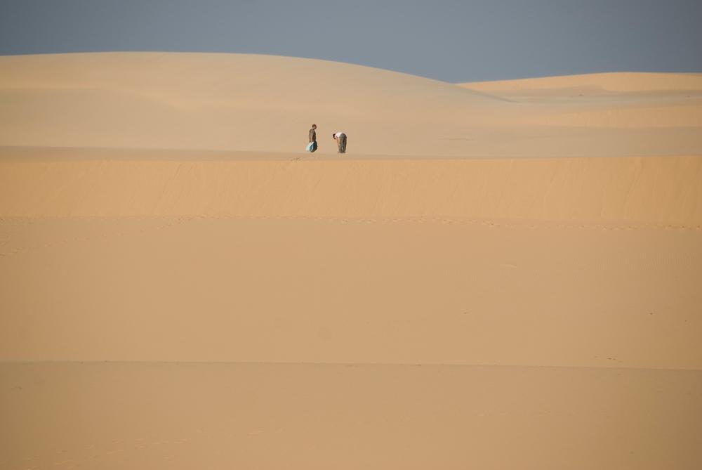 Sand dunes in Mui Ne, Vietnam