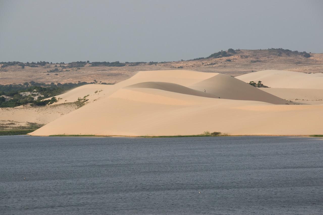 The beautiful white sand dunes - Mui Ne, Vietnam