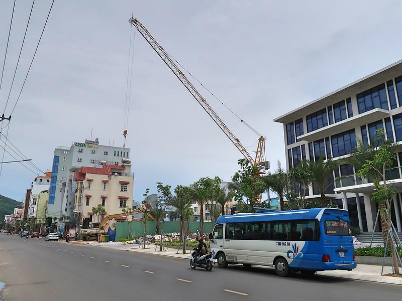 Quy Nhon Melody Flamenco under construction