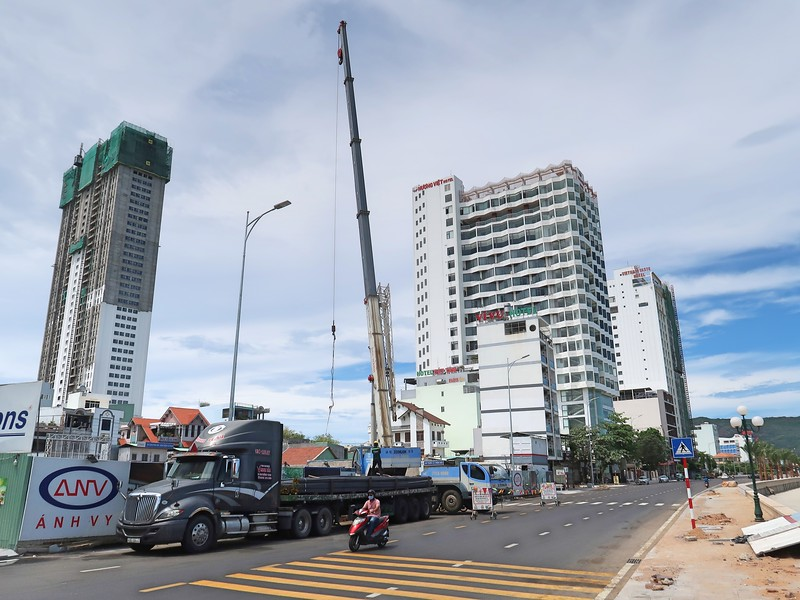 L'avenir Quy Nhon under construction