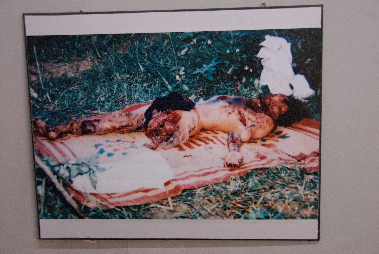 Burnt Body Photo at War Relics Museum - Saigon, Vietnam