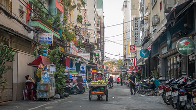 In Saigon (Ho Chi Minh City), Vietnam.
